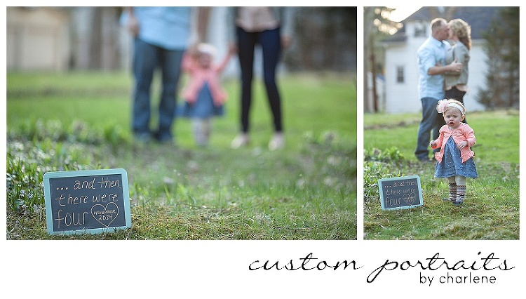 PITTSBURGH FAMILY PHOTOGRAPHER SECOND BABY ANNOUNCEMENT BIG SISTER ANNOUNCEMENT (1)