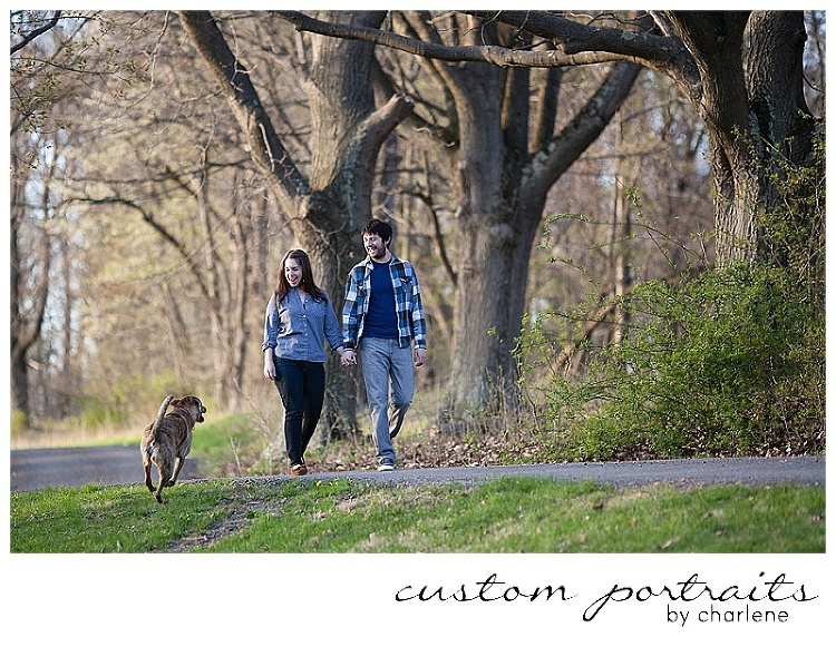 six month old six months photos family session with dog pittsburgh family photographer (1)