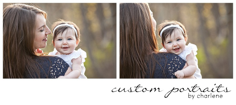 six month old six months photos family session with dog pittsburgh family photographer (2)