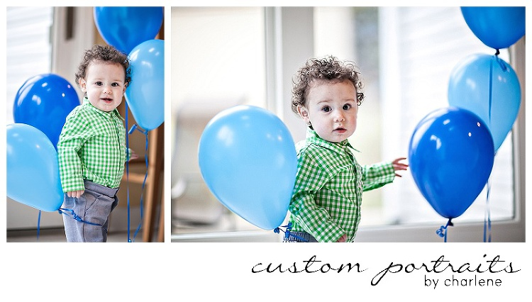pittsburgh baby photographer first birthday cake smash session hopewell township boy first birthday 1st bday balloons cake gingham green blue (10)