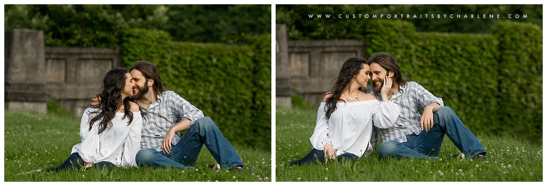 Shanie And Brendans North Side Pittsburgh Engagement