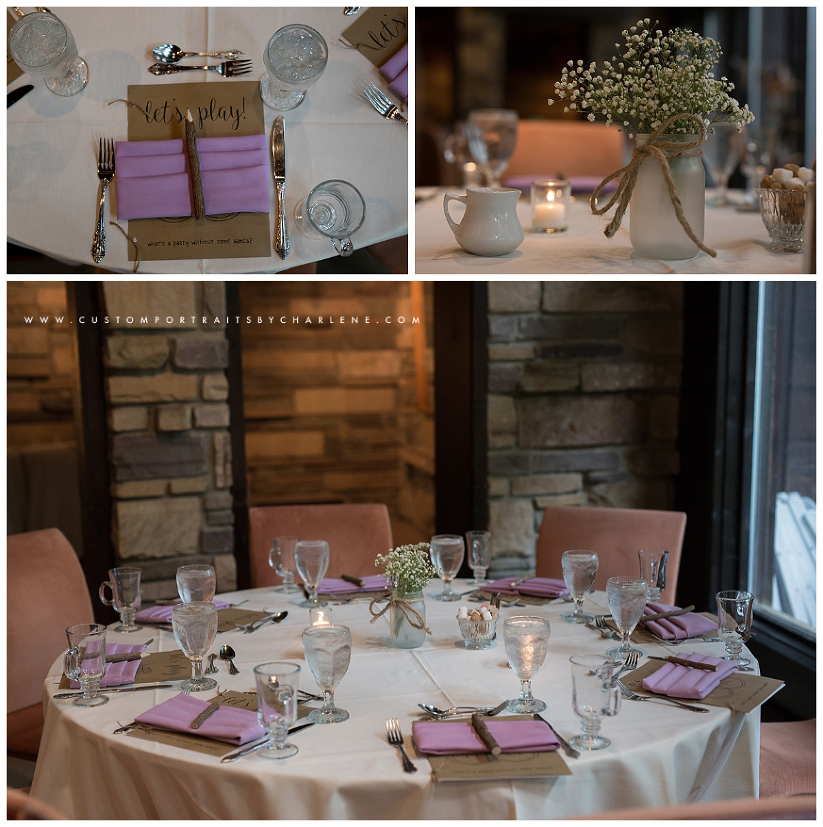 hyeholde restaurant bridal shower moon township wedding photographer custom portraits by charlene
