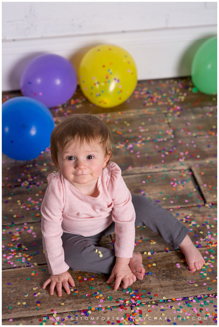 pittsburgh first birthday smash cake session kids photographer 2